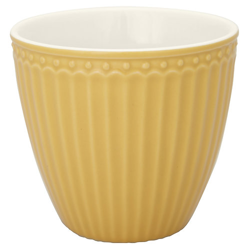 GreenGate - Latte Cup - Alice Honey Mustard