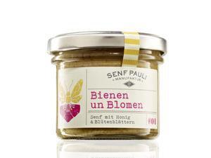 "Senf Pauli - Senf ""Bienen un Blomen"" (110 ml)"