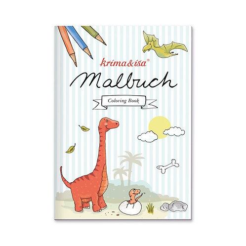 """Malbuch """"Dinos"""" von Krima & Isa"""