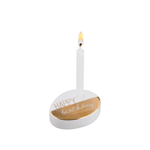 """RÄDER Wunschkerze """"Happy Birthday"""""""