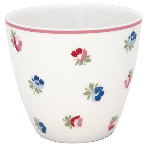 GreenGate - Latte Cup - Viola White