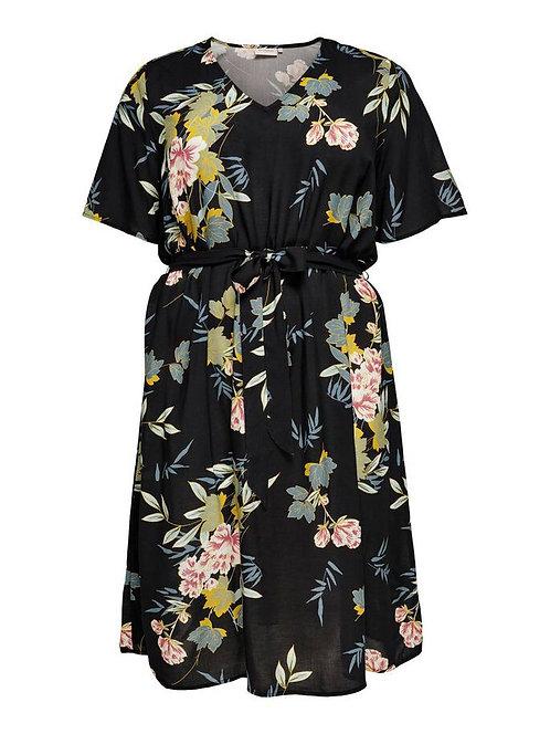 ONLY CARMAKOMA - Curvy-Kleid mit Blumenprint