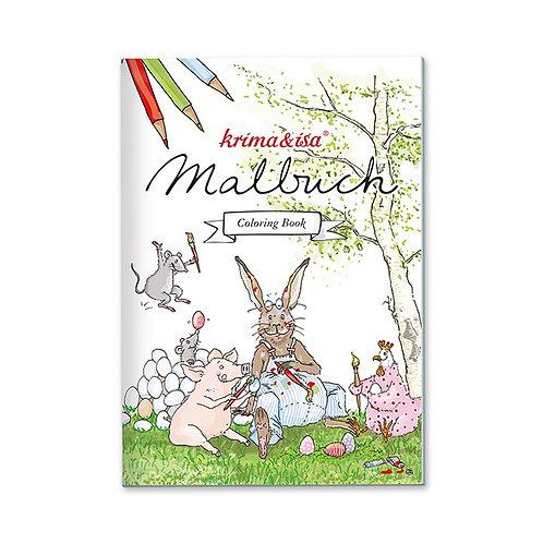 """Malbuch """"Ostern"""" von Krima & Isa"""