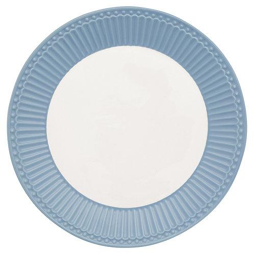 GreenGate - Frühstücks- / Kuchenteller - Alice Sky Blue