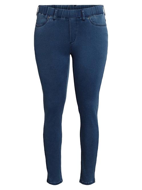 SALE Ciso - Stretch-Jeans mit elastischem Bund - Denim Blau