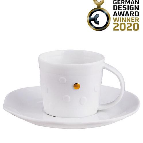 """RÄDER - Espressotasse  """"Punkte"""""""