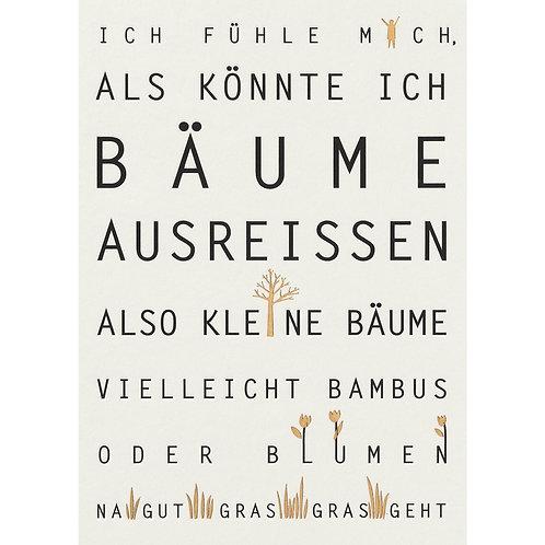 """Postkarte von Räder """"Ich fühle mich…"""""""