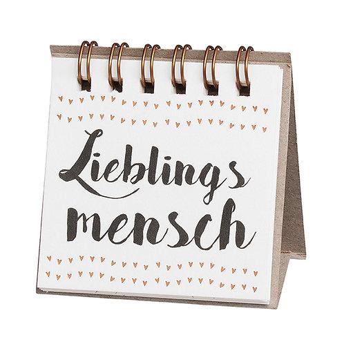 """RÄDER - Kleine Botschaften """"Lieblingsmensch"""""""