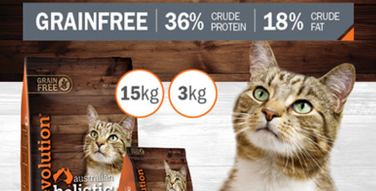 "CAT DRY FOOD - Chicken and Turkey with Cranberry ""GRAINFREE"" 3kg"