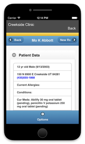 e-Prescribe eRx SureScripts electronic prescribing pharmacy