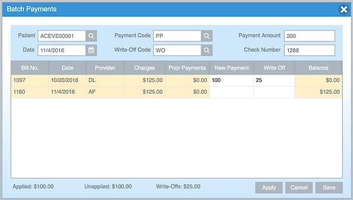 Batch Payments