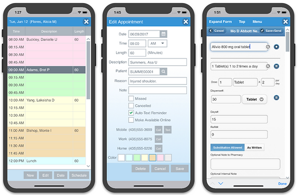 Mobile Practice Management