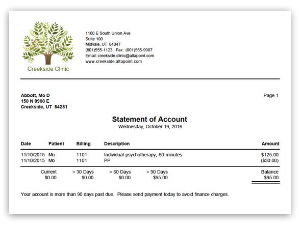 Patient Medical Billing