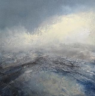 Kinder Mist - Acylic on Canvas 30x30cm (