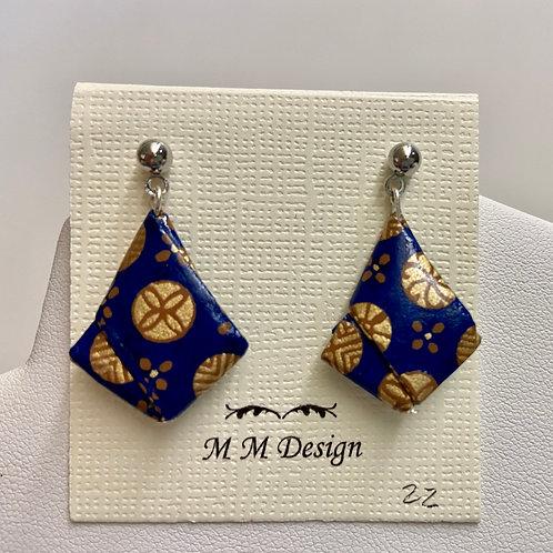 Origami--Blue