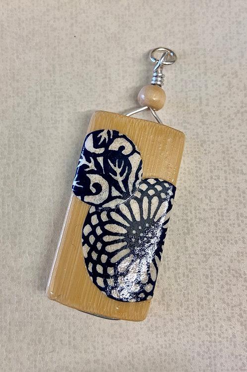 Bamboo Tile Pendant--Cut-Outs