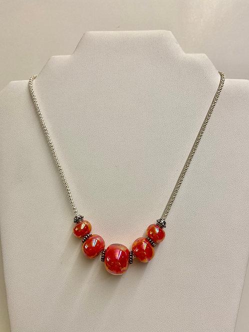 Vibrant Lamp Work Beads