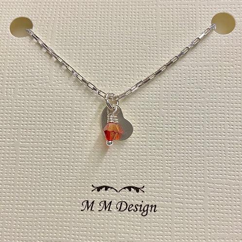 Tiny Heart--Red