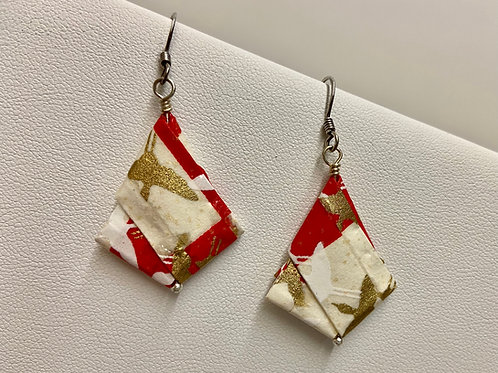 Origami-Red & White