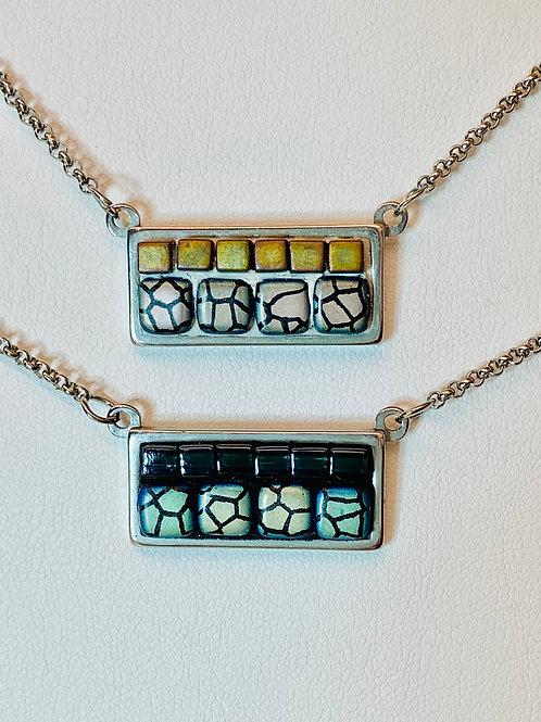 Mosaic Pendant Necklace