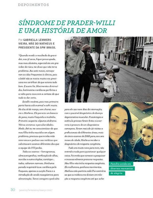 Síndrome de Prader-Willi Revista Vidas Raras