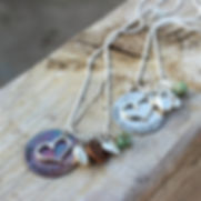 Love Transforms necklace designed for ICC fundraiser