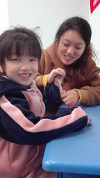 ICC Family Partners Program child Xiaoyu
