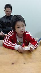 ICC Family Partners Program child Xuanxuan