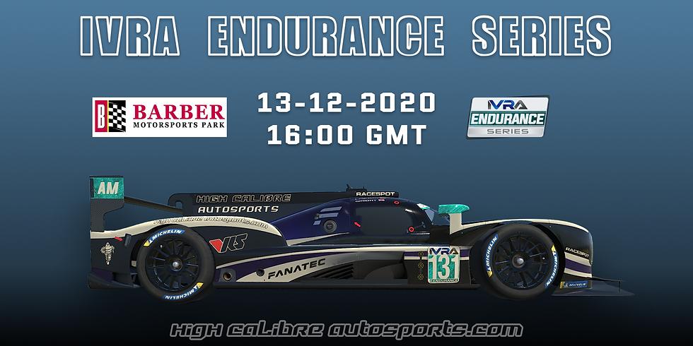 IVRA Endurance Series - Round 3