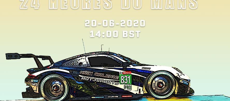 24 Heures Du Mans - 2020
