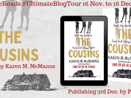 BLOG TOUR: The Cousins, Karen M McManus