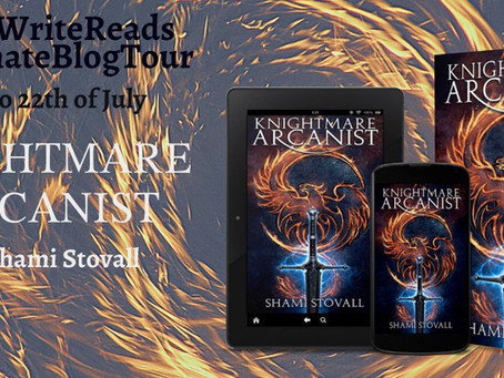Blog Tour: Knightmare Arcanist by Shami Stovall