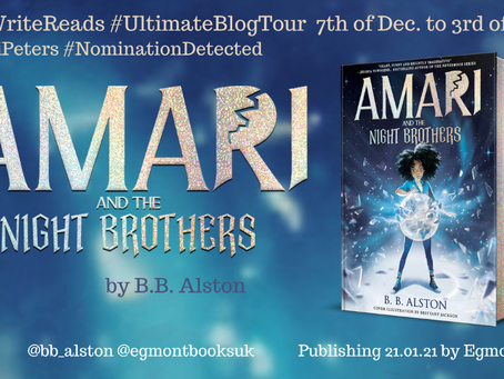BLOG TOUR: Amari and the Night Brothers by B B Alston