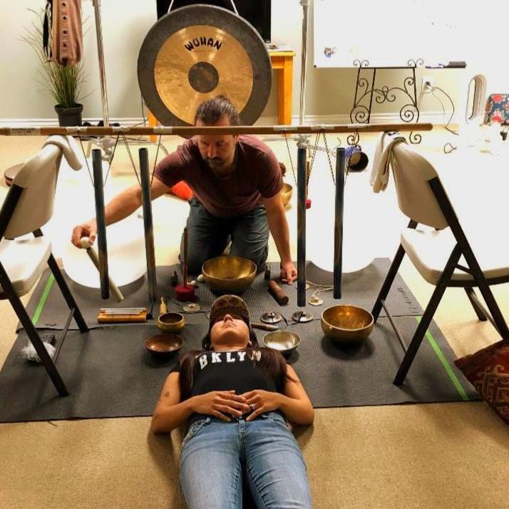 Sound Bath with Eric Ward, CHF