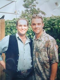 John McCutcheon and Robbie Williams