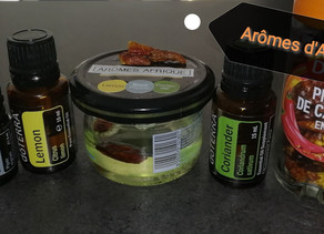 Les huiles aromatisées
