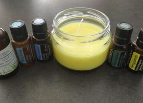 Bougies de massage aux huiles essentielles