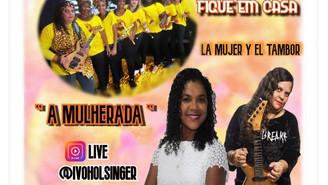 Live com A Mulherada domingo
