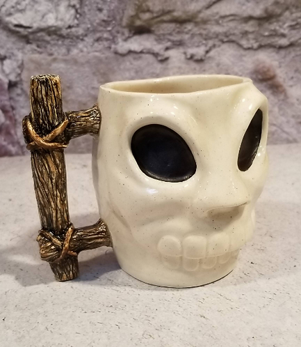 Martian Skull Mug - made to order