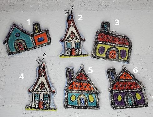 Little House ornament
