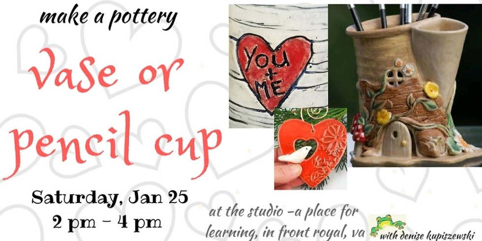 Vase at The Studio January 25th
