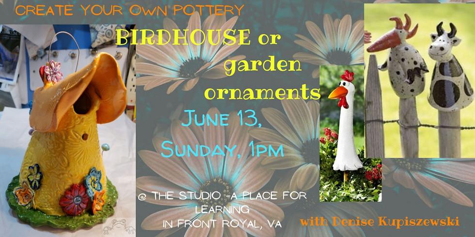 Birdhouse or Garden ornaments