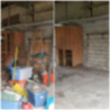 Grove City Ohio garage cleanout before a