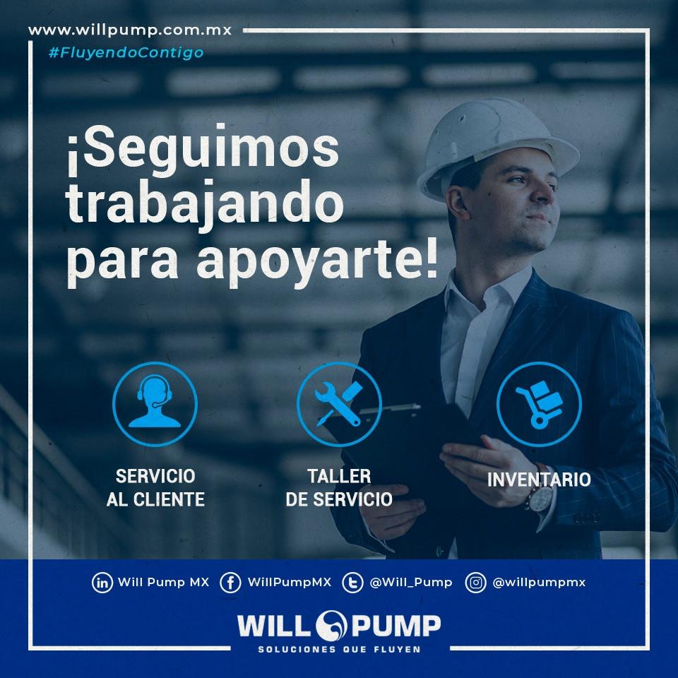 Will Pump proveedor bombas