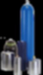 BLACOH, instrumentación para bombas con Amortiguadores de Pulsaciones (Serie Sentry), Estabilizador de Succión (Serie J),  Acumulador y Contenedor de Fugas (Spill Stop)