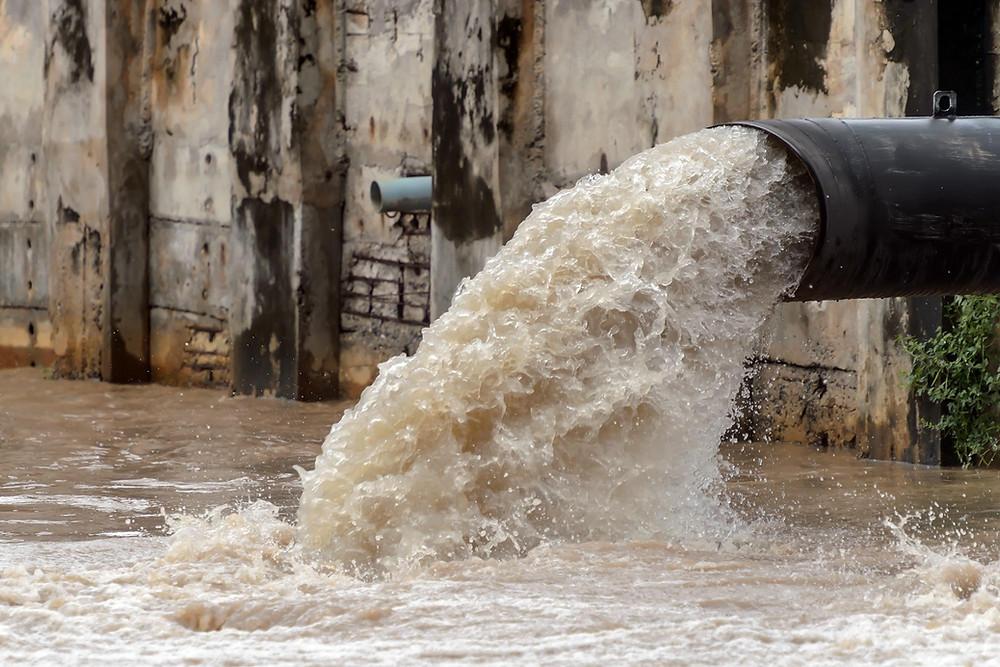 agua residual PTAR agitador Lightnin