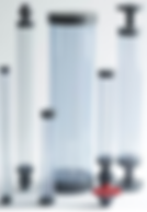 Griffco columna de calibración, utilizada con bombas dosificadoras Pulsatron y Pulsafeeder para dosificacion de químicos en tratamiento de aguas, procesos químicos, minería.