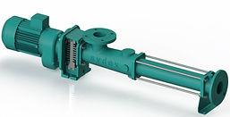 Bomba de cavidad progresiva Sydex Pump series: K, W  (brida rectangular), H (Sanitaria), FM (compacta), E (vertical), M (dosificacion) y G (brida rectangular)