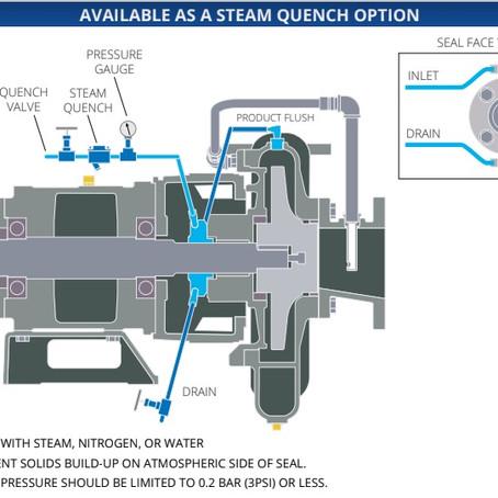Cornell Pump lanza nuevo sello mecánico para las bombas de Aceite Térmico.