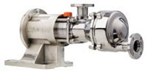 Bomba Mouvex de Disco Excentrico Series: SLS y SLC, modelos: SL1, SL2, SL3, SL4 y SL8
